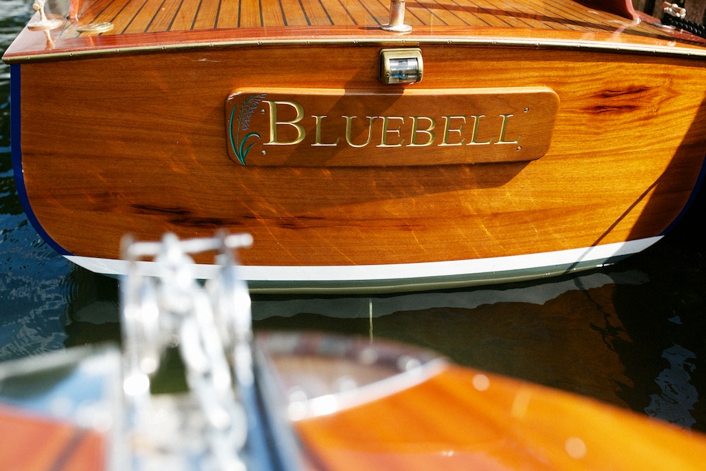 "Cabin Launch 28ft ""Blue Bell"""