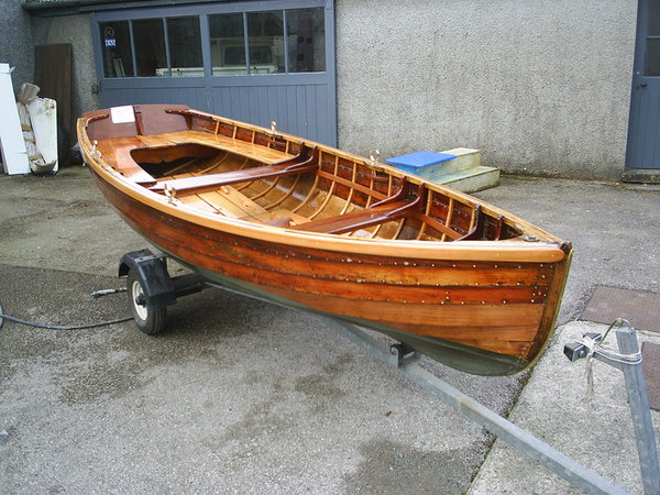 Clinker row boats, Skiffs and Charr boats